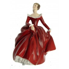 Signed Royal Doulton figurines