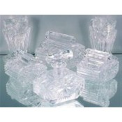 Glass Dressing table pieces