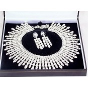 Diamante Necklaces and Diamante pendants and sets